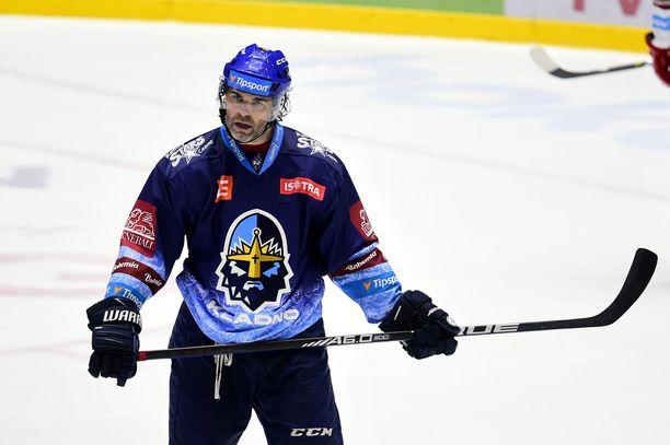 Jaromir Jagr on pelannut vasta 13 ottelua tällä kaudella. Arkistokuva.