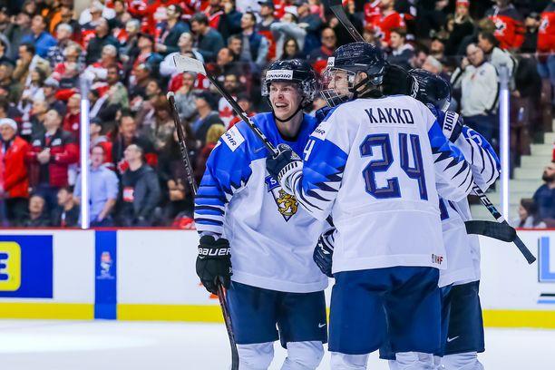 Nämä hetket Yle televisioi viime vuodenvaihteessa, kun Kaapo Kakko johti Nuoret Leijonat maailmanmestariksi Vancouverissa.