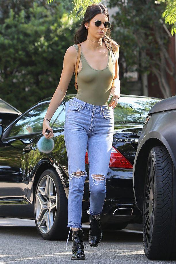 Kendall Jennerin tyylinäyte