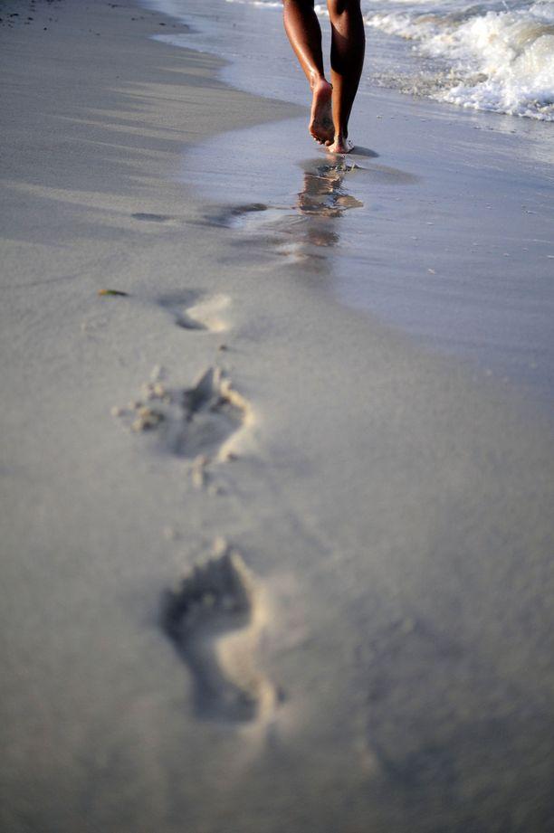 Kaikille El Cavalletin kävijöille ei riitä pelkkä rantaelämästä nauttiminen.