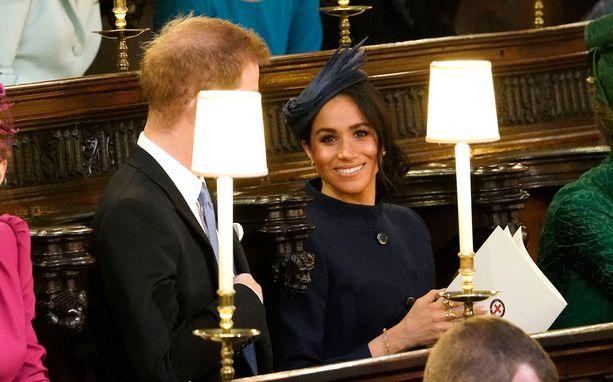 Prinssi Harry ja herttuatar Meghan avioituivat samassa kappelissa tämän vuoden toukokuussa.