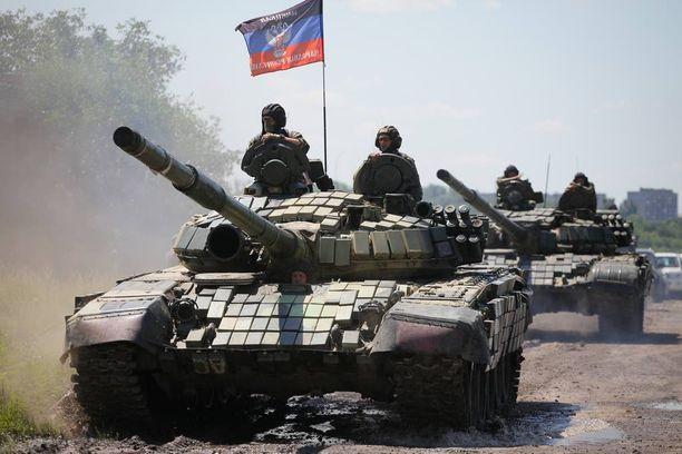 Itä-Ukrainassa on runsaasti tulitaukorikkomuksia etenkin niin sanottujen kansantasavaltojen puolelta. Kuva viime kesältä Donetskin lähettyviltä.