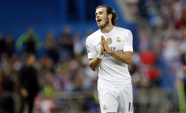 Gareth Bale noitui epäonneaan Madridin paikallispelissä.