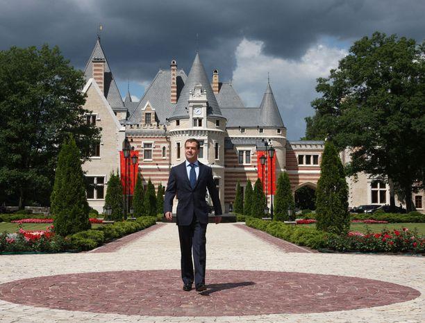 Presidentin residenssi on myös Barvihassa.