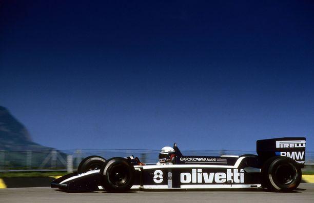 Elio de Angelis menehtyi Brabham BT55-auton ratissa Paul Ricardin radalla 1986.