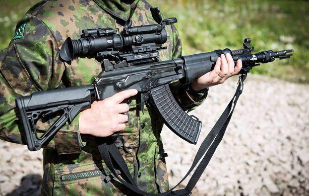 Puolustusvoimat hankkii rynnäkkökivääreihin punapistetähtäimen.