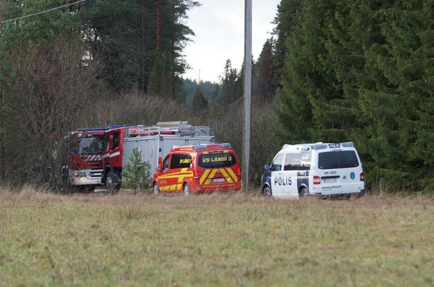 Varsinais-Suomen Sauvossa sattui tulipalo omakotitalossa.