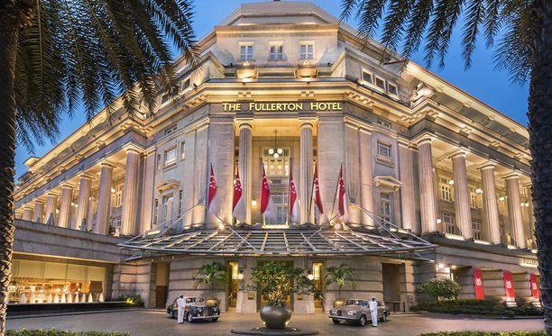 Presidenttisviitti on Singapore Clubin entinen entinen korttipelihuone. Sinne pääsee hotellin nettisivujen mukaan autotallista suoraan hissillä.