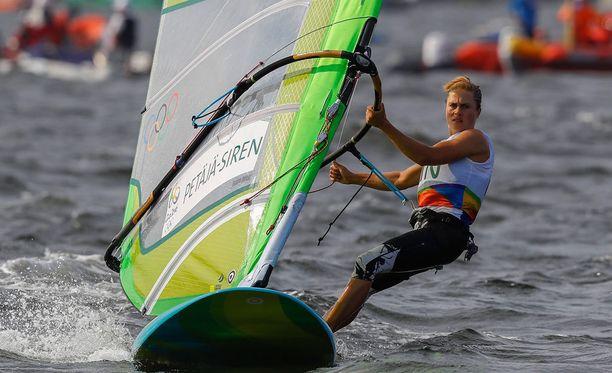 Tuuli Petäjä-Sirenin otteet riittivät mitalilähtöön, mutta mitalisijat ovat jo kaukana.