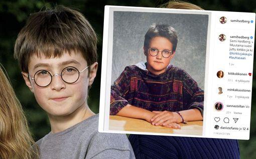 Sami Hedberg oli lapsena kuin ilmetty Harry Potter - somessa ihmetellään yhdennäköisyyttä
