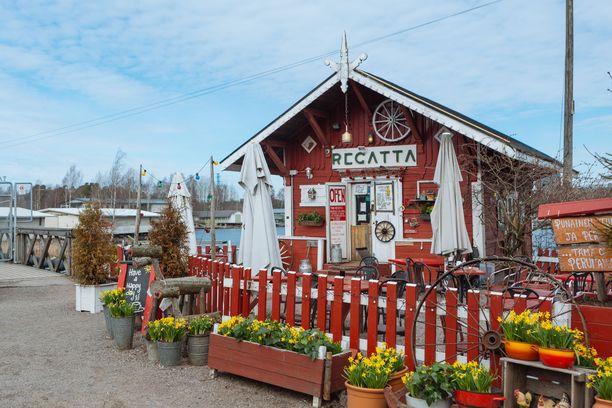 Cafe Regatta on pääkaupungin persoonallisimpia kahviloita.