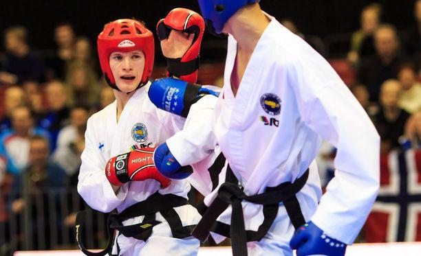 Jari Ramberg teki ottelukullallaan suomalaista taekwon-don historiaa