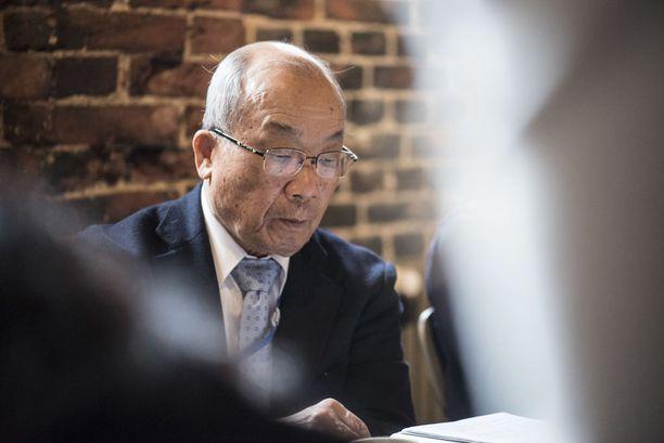 Seiichiro Mise on toiminut ydinaseiden vastaisena aktivistina vuosikausia. Hän toivoo, että myös ydinvoimasta luovuttaisiin heti kun se on mahdollista.