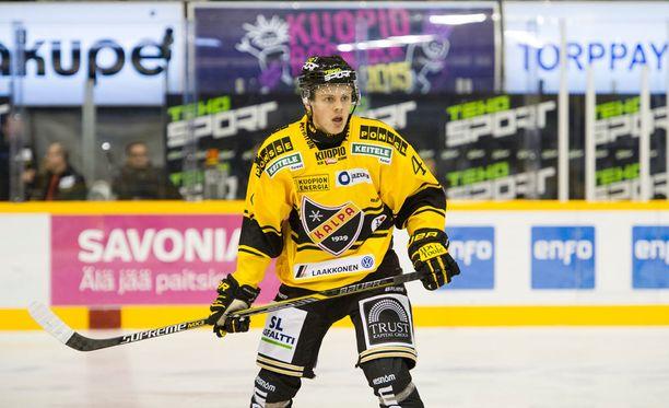 Eri lähteiden mukaan Kasperi Kapanen siirtyy Toronto Maple Leafsiin.