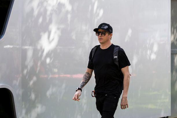 Kimi Räikkönen Melbournessa keskiviikkona.