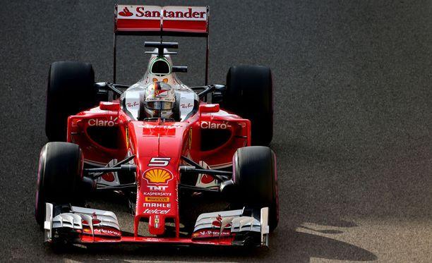 Tämä Ferrari SF16-H on jo museokamaa.