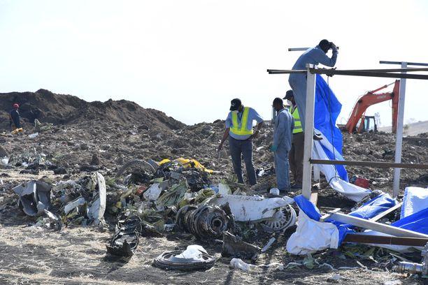 Ethiopian Airlinesin Boeing Max -kone syöksyi maahan aiemmin tässä kuussa. Turmassa kuoli 157 ihmistä.