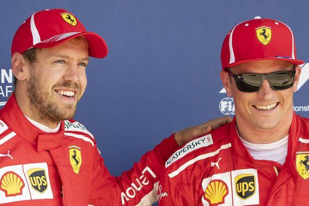 Sebastian Vettel ja Kimi Räikkönen ovat saaneet tälle kaudelle alleen Ferrarin, jolla on ollut mahdollista haastaa Mercedestä kovemmin kuin koskaan vuonna 2014 alkaneella hybridiaikakaudella.