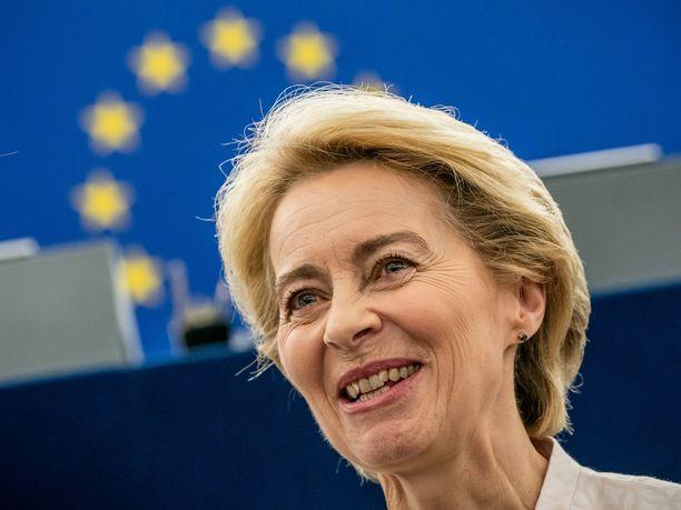 Saksalainen Ursula von der Leyen on valittu EU-komission puheenjohtajaksi.