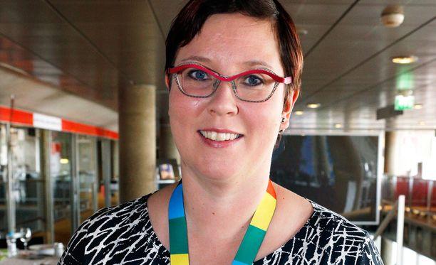 Merja Kyllönen on käytettävissä presidenttiehdokkaaksi.