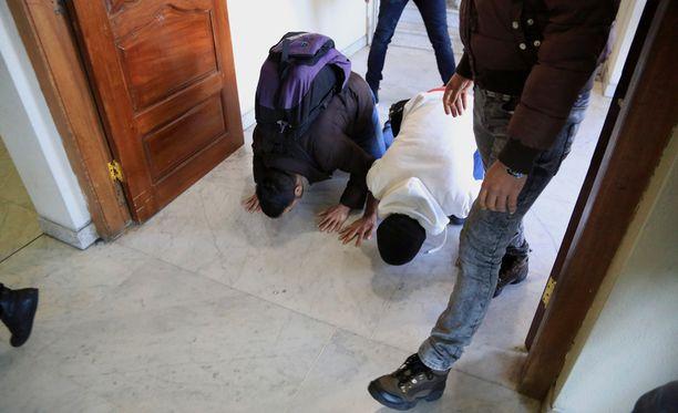 Daily Mailin mukaan jotkut turvapaikanhakijat palasivat kotimaahansa itkien helpotuksesta, toiset taas onnellisina lentokentän lattiaa suudellen.