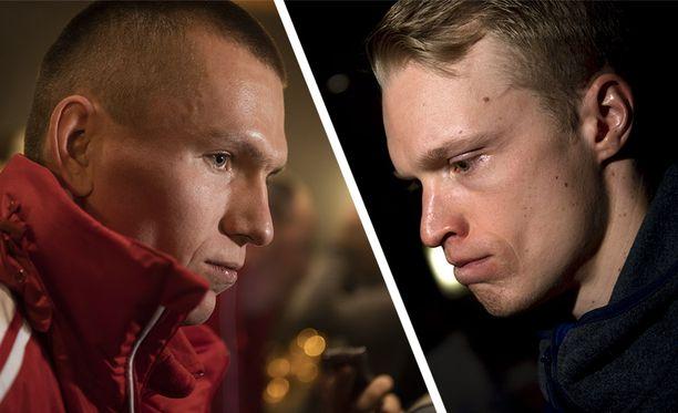 Aleksandr Bolshunov (vas.) ja Iivo Niskanen ovat arkkivihollisia.