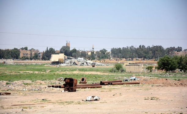 Raqqa on terroristijärjestö Isisin epävirallinen pääkaupunki.