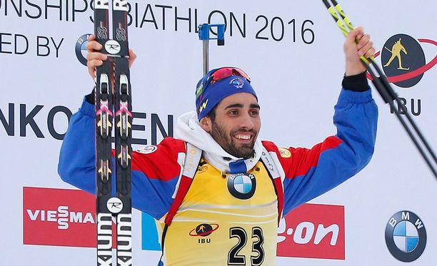 Martin Fourcade on napannut neljä mestaruutta Oslossa.