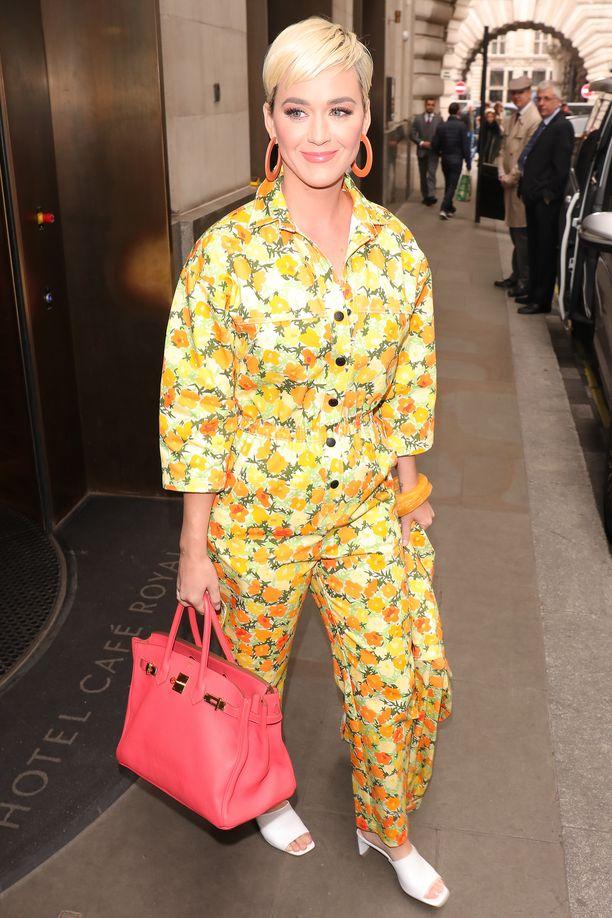 Katy Perry Lontoossa toukokuussa.