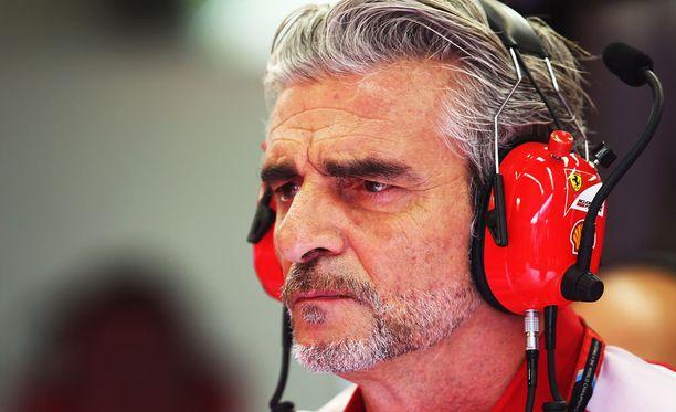 Antoiko Maurizio Arrivabene epäkunnioittavan lausunnon?