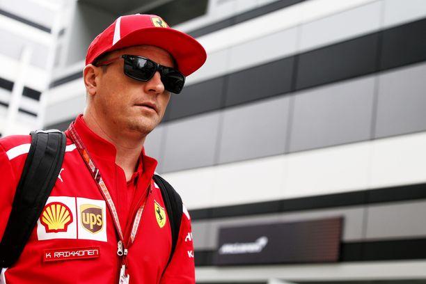 Kimi Räikkönen oli seitsemänneksi nopein Venäjän GP:n ensimmäisissä harjoituksissa.