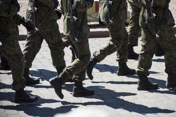 Puolustusvoimien mukaan tilanne meni kovin eri tavalla kuin blogikirjoituksessa kerrotaan. Kuvituskuva.
