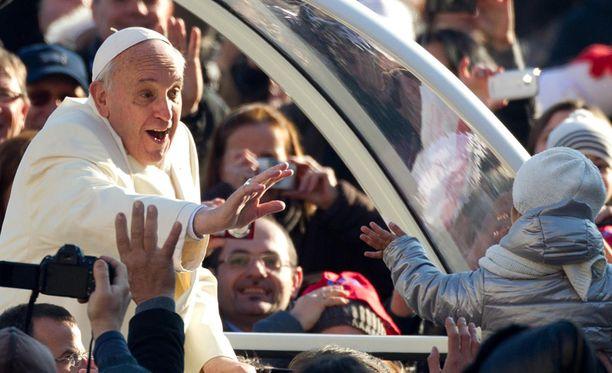 Paavi pokkasi arvostetun tittelin.