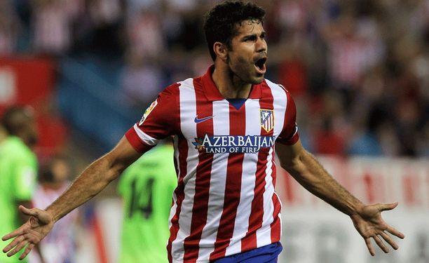 Atleticoa vuodesta 2007 edustanut Diego Costa on häikäissyt alkukaudella.