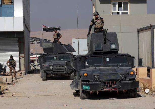 Irakin armeijan eliittijoukot etenivät torstaina Bartellaan, historialliseen kristittyyn kaupunkiin.