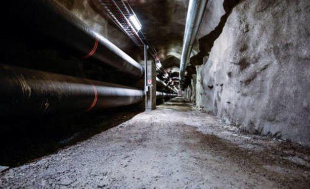 Helsinki kätkee alleen kilometreittäin tunneleita ja luolia. Kuvituskuva.