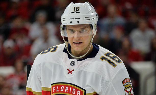 Aleksander Barkov valittiin NHL:n tähdistöotteluun.