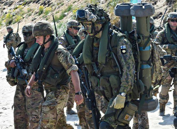 Suomen armeijan eri aselajit ovat ensi vuonna mukana kaikkiaan 84 kansainvälisessä sotaharjoituksessa.