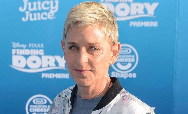 Ellen DeGeneres, 60, on tunnettu yhdysvaltalaisnäyttelijä ja koomikko.