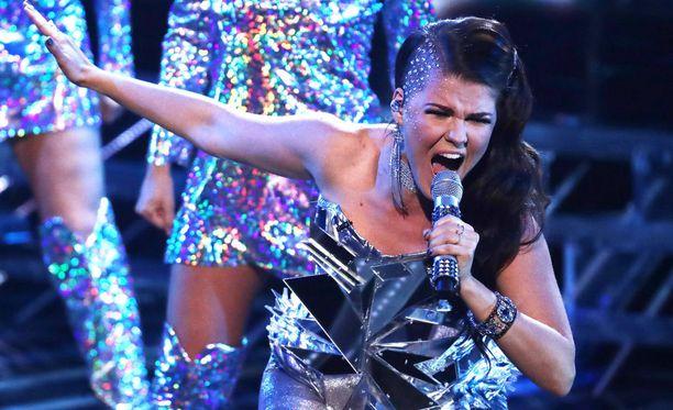 Saara Aalto on päässyt X Factorissa jo pitkälle.