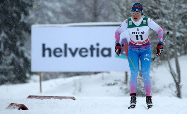 Krista Pärmäkoski oli parhaana suomalaisena Rukan sprintin viides.