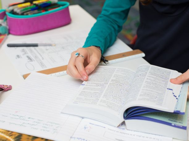 BBC kiinnostui oululaisen Hiukkavaaran koulun oppimisympäristöstä. Kuvituskuva.