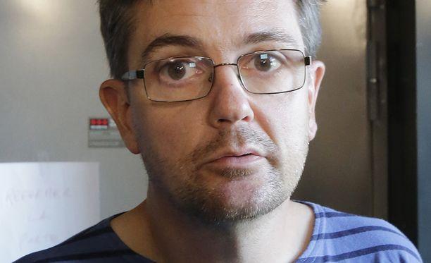 """Stéphane """"Charb"""" Charbonnier."""