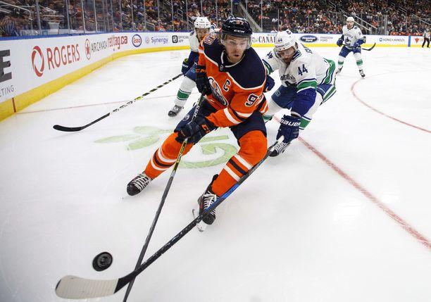 Connor McDavid on osoittanut lyhyen NHL-uransa aikana olevansa juuri niin hyvä kuin mitä hänestä junioriaikoina ennakoitiin tulevan.