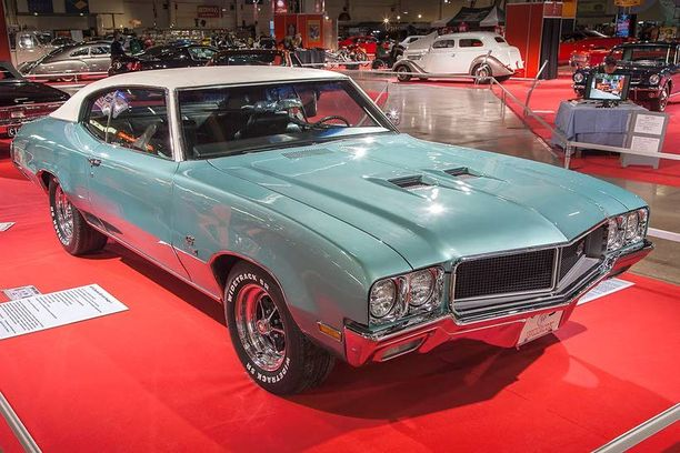 Buick GS 455 Stage I 1970 American Car Showssa 2013.