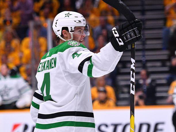 Miro Heiskasen päätä ei palellut uran ensimmäisessä NHL:n pudotuspeliottelussa.