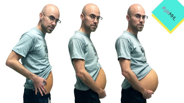 "Heikin ""raskauden eteneminen""."