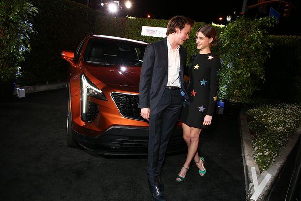 Natalia Dyer ja Charlie Heaton syyskuussa 2018.