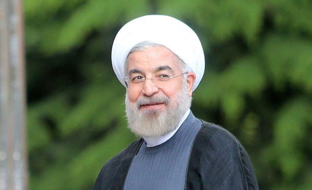 Iranin presidentti Hasan Ruhani ei ole tyytyväinen Trumpin johdossa olevaan Yhdysvaltoihin.