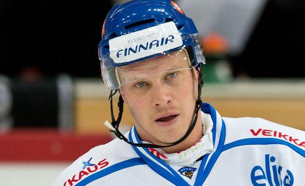 Lasse Kukkonen jää sivuun Karjala-turnauksesta.
